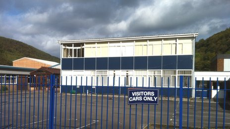 Cwmcarn school asbestos